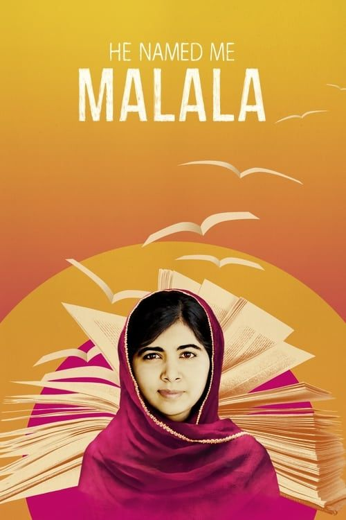 Key visual of He Named Me Malala