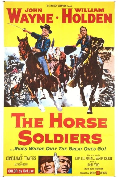 Key visual of The Horse Soldiers