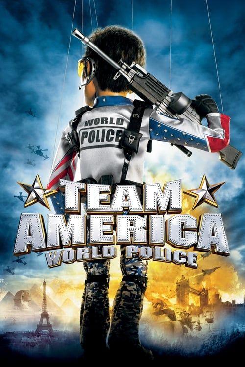 Key visual of Team America: World Police