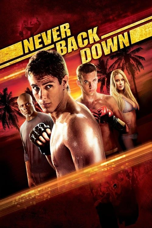 Key visual of Never Back Down