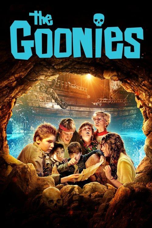 Key visual of The Goonies