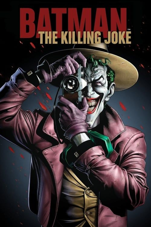 Key visual ofBatman: The Killing Joke