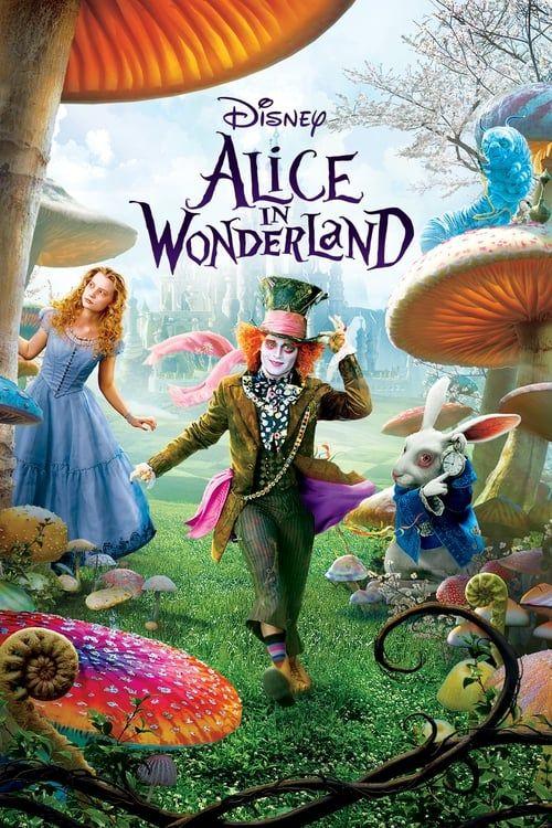 Key visual of Alice in Wonderland