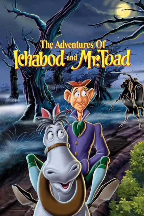 Key visual of The Adventures of Ichabod and Mr. Toad