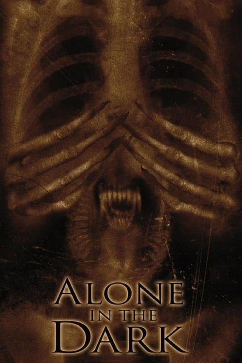 Key visual ofAlone in the Dark