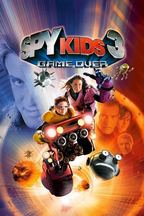 Key visual ofSpy Kids 3-D: Game Over