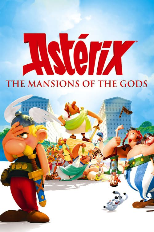 Key visual of Asterix: The Mansions of the Gods