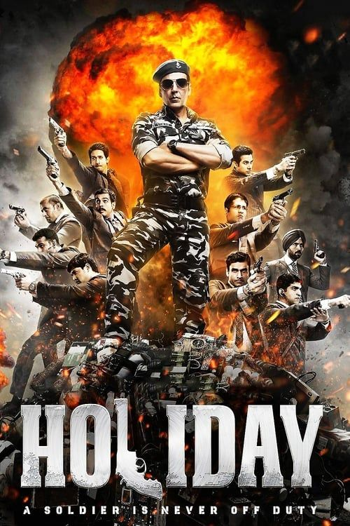 Key visual of Holiday: A Soldier is Never Off Duty