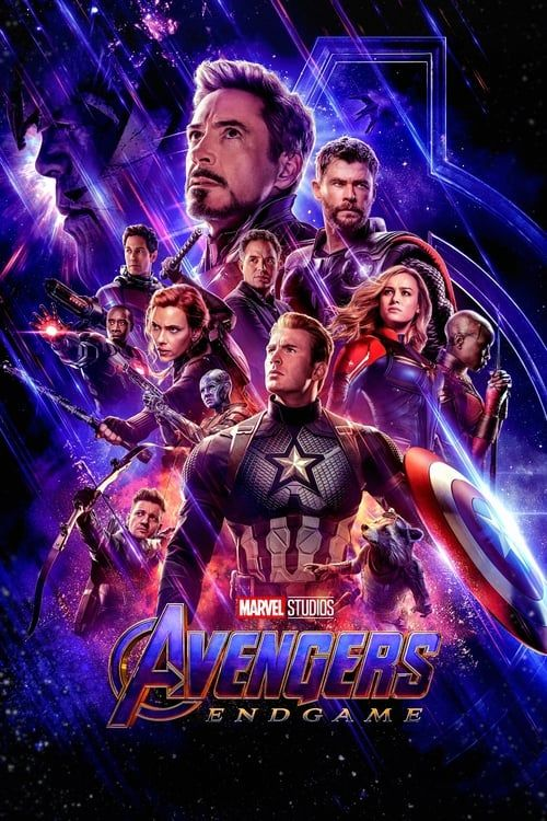 Key visual ofAvengers: Endgame