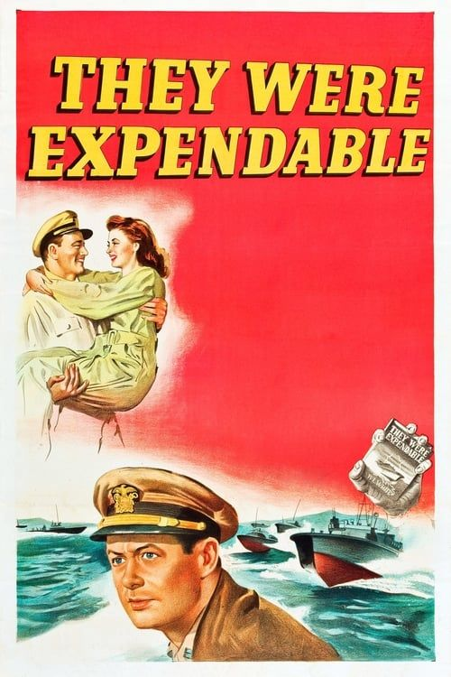 Key visual of They Were Expendable