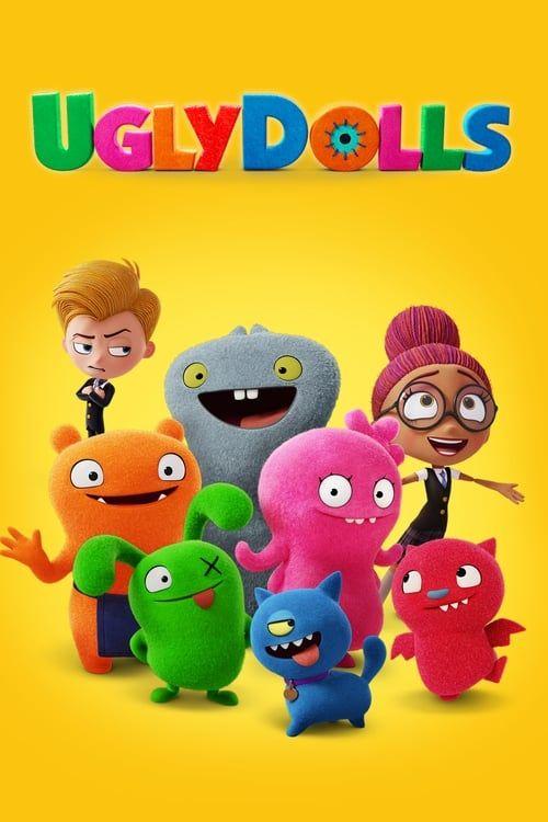 Key visual of UglyDolls