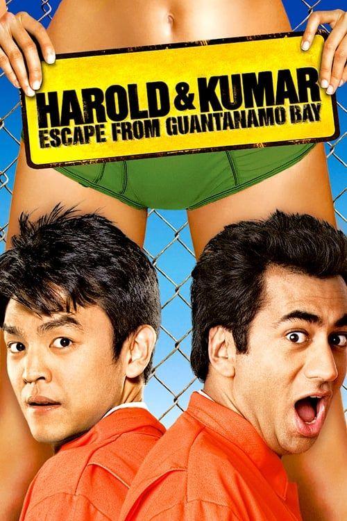 Key visual of Harold & Kumar Escape from Guantanamo Bay