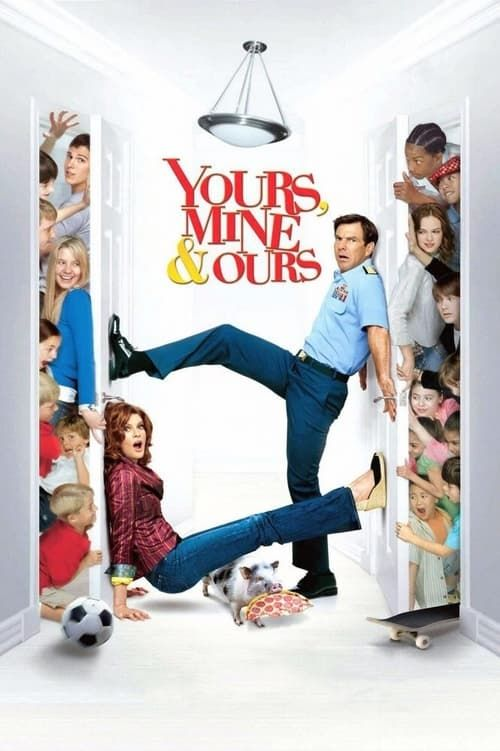 Key visual of Yours, Mine & Ours