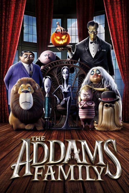 Key visual of The Addams Family