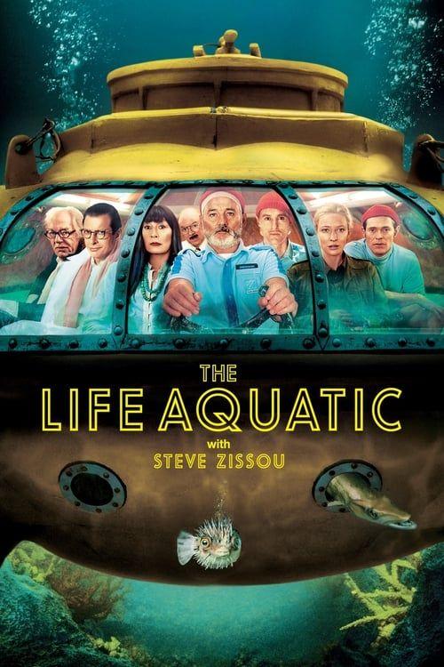 Key visual of The Life Aquatic with Steve Zissou
