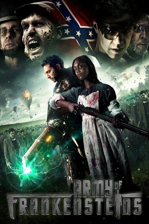 Key visual of Army of Frankensteins