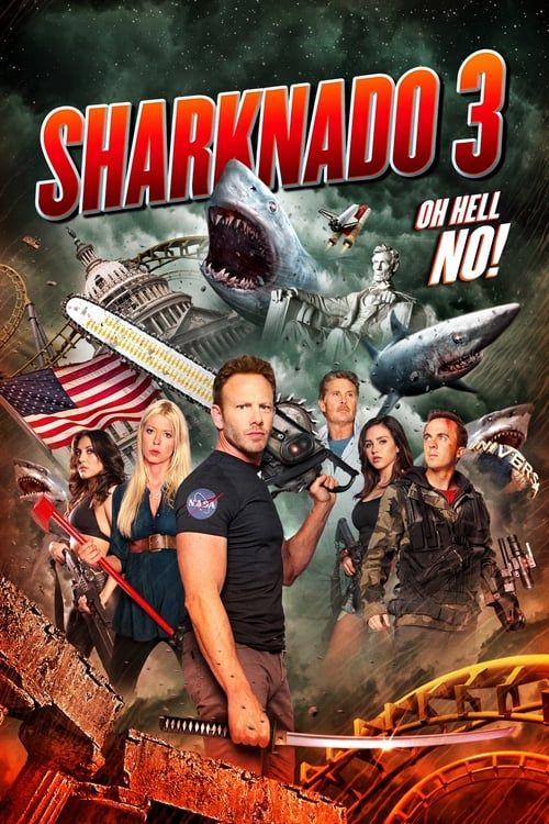 Key visual of Sharknado 3: Oh Hell No!