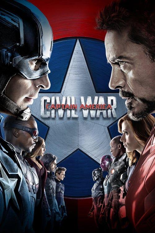 Key visual of Captain America: Civil War