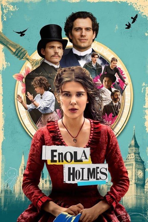Key visual of Enola Holmes