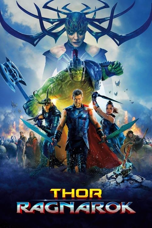 Key visual ofThor: Ragnarok