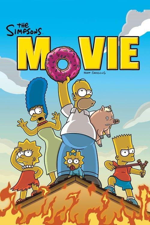 Key visual ofThe Simpsons Movie