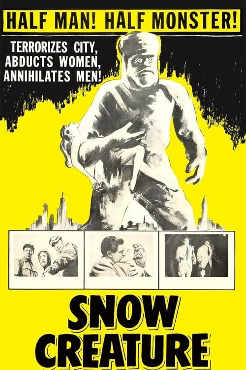 Key visual of The Snow Creature