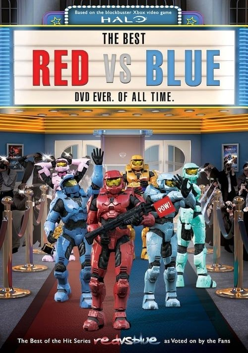 Key visual ofThe Best Red vs. Blue. Ever. Of All Time