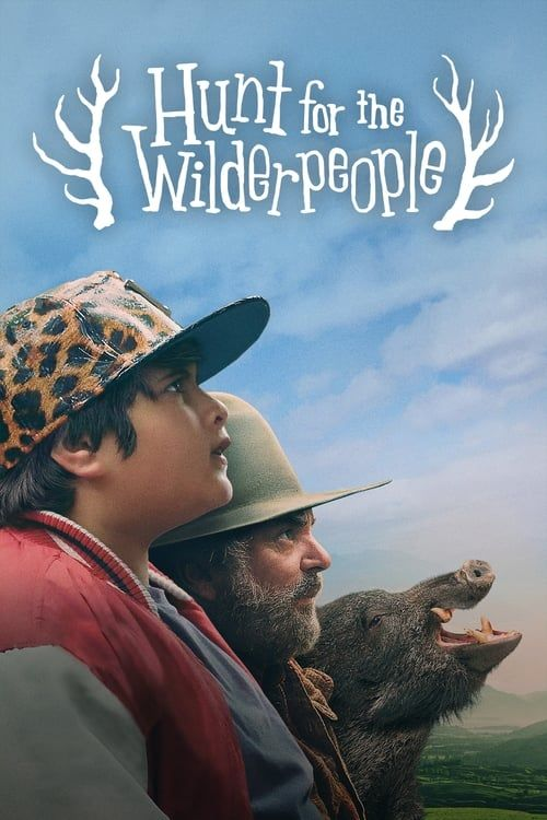 Key visual of Hunt for the Wilderpeople