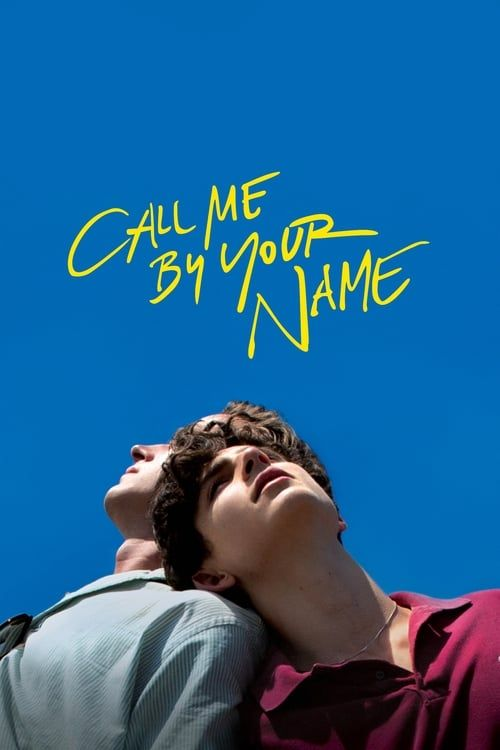 Key visual of Call Me by Your Name