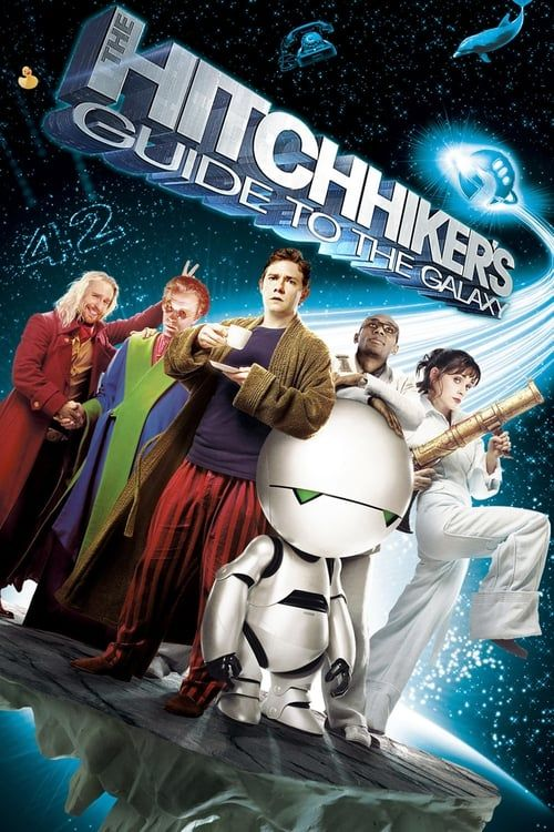 Key visual ofThe Hitchhiker's Guide to the Galaxy