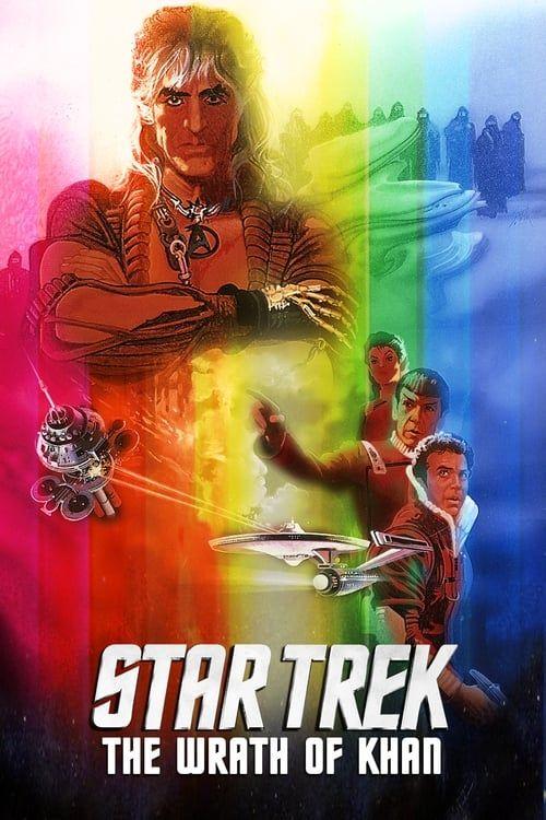 Key visual ofStar Trek II: The Wrath of Khan