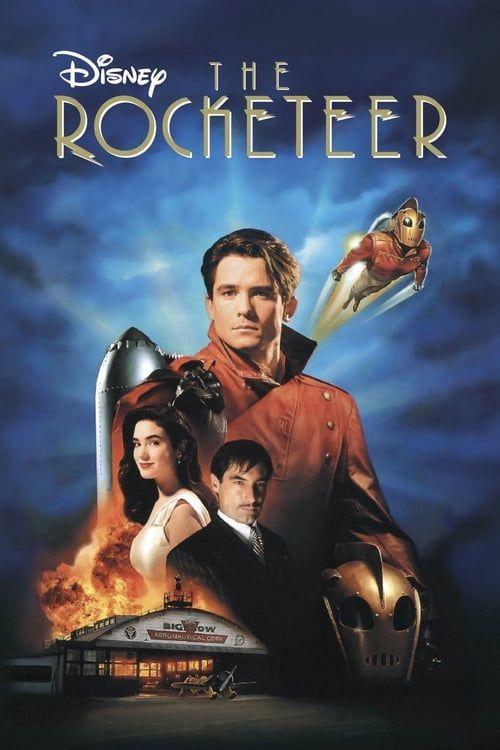 Key visual ofThe Rocketeer