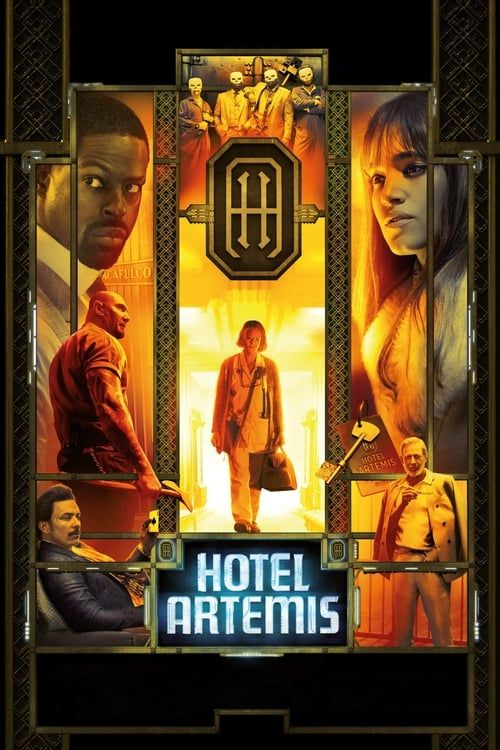 Key visual of Hotel Artemis
