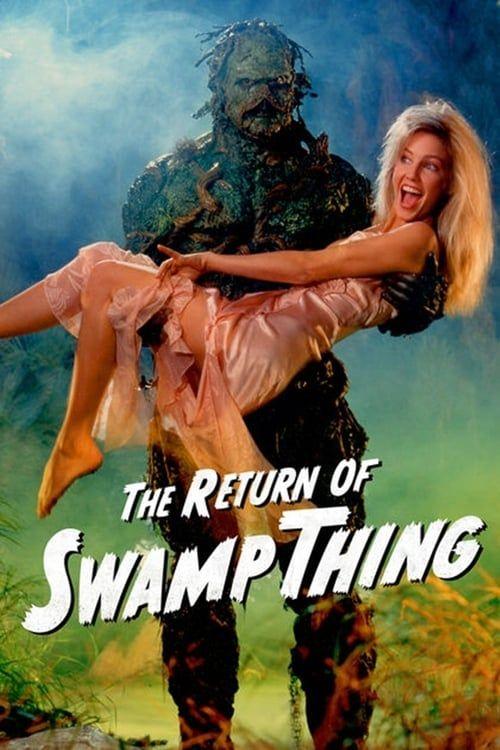 Key visual of The Return of Swamp Thing