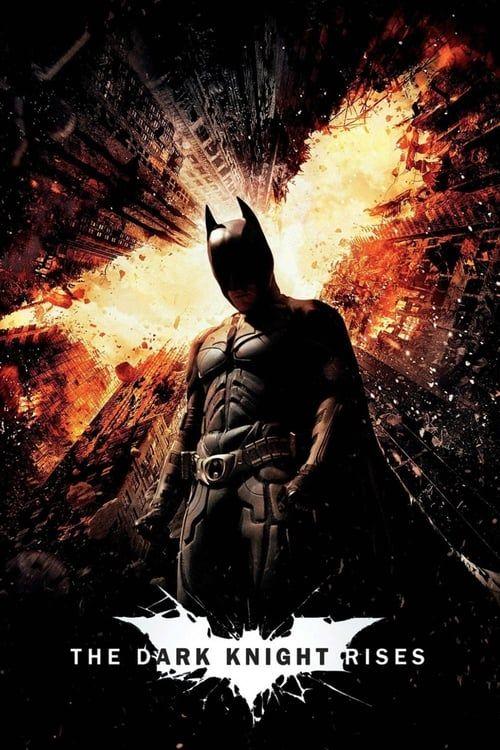 Key visual of The Dark Knight Rises