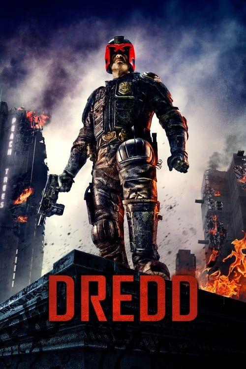 Key visual of Dredd