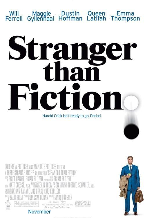 Key visual of Stranger Than Fiction