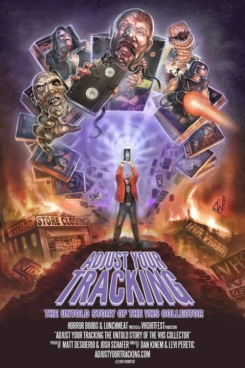 Key visual of Adjust Your Tracking: The Untold Story of the VHS Collector