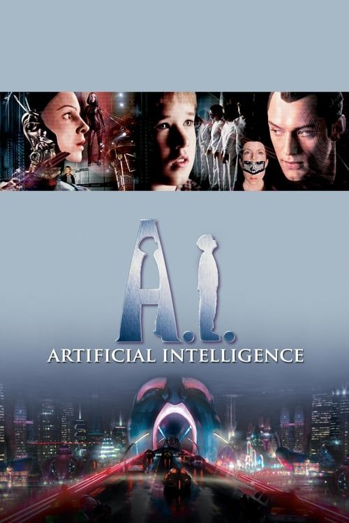 Key visual ofA.I. Artificial Intelligence