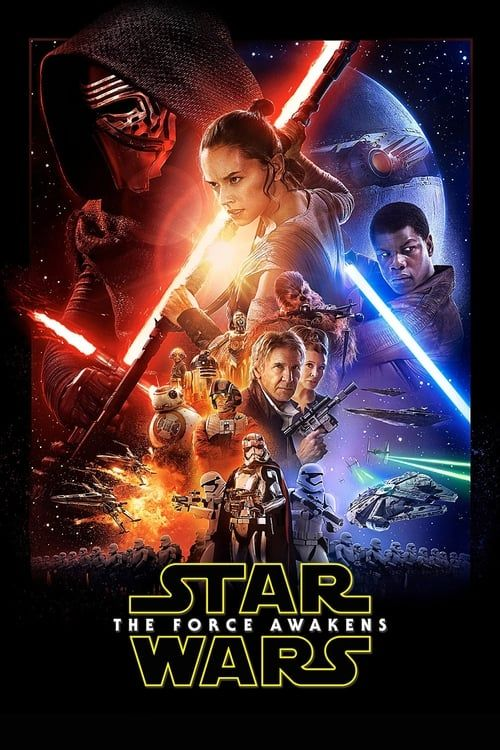 Key visual ofStar Wars: The Force Awakens