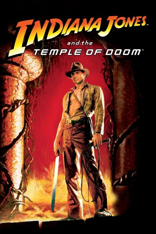 Key visual ofIndiana Jones and the Temple of Doom