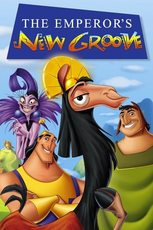 Key visual of The Emperor's New Groove