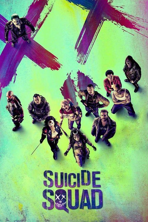 Key visual ofSuicide Squad