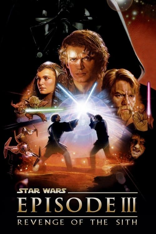 Key visual ofStar Wars: Episode III - Revenge of the Sith