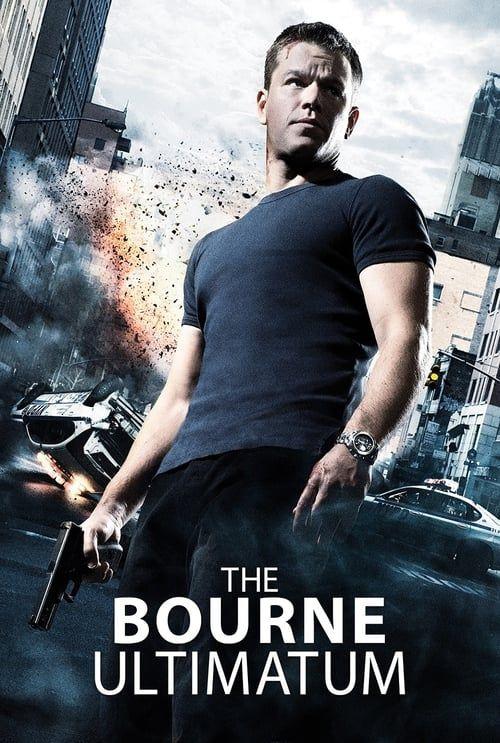 Key visual of The Bourne Ultimatum