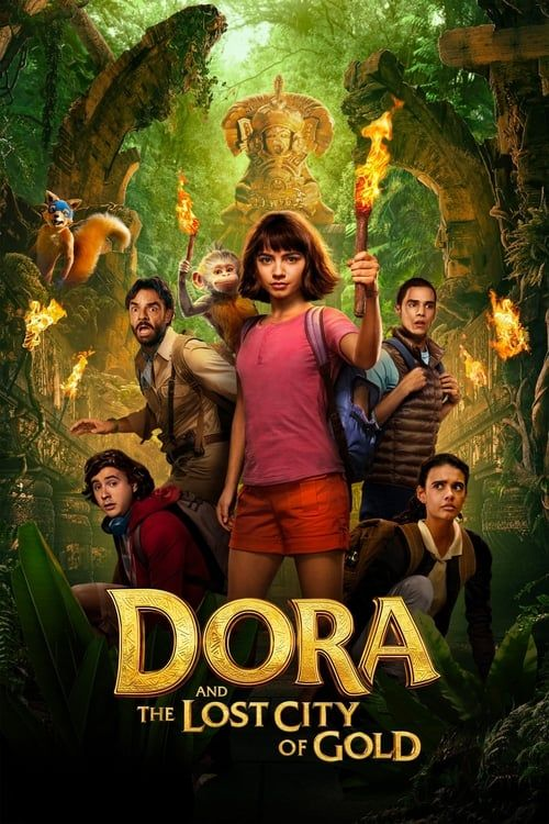Key visual of Dora and the Lost City of Gold