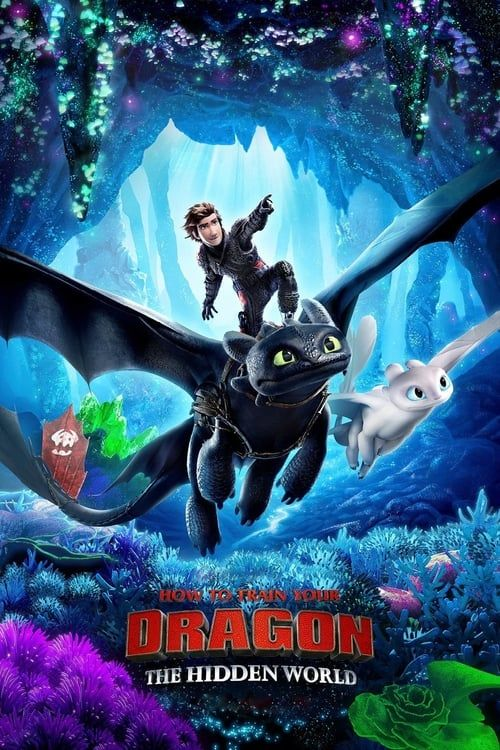 Key visual ofHow to Train Your Dragon: The Hidden World