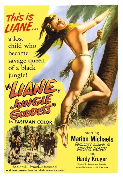 Key visual ofLiane, Jungle Goddess