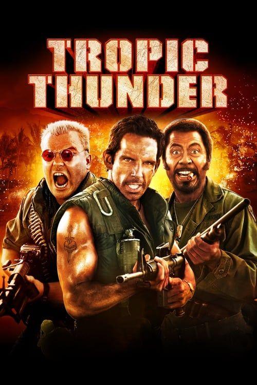 Key visual of Tropic Thunder